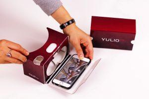 Yulio Branded Google Cardboard style VR Viewer