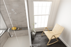 VR Interior design shows off the scale of small spaces