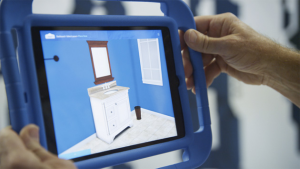 Lowes have figured out how to use VR in their Holoroom installations