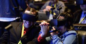 VR makes a splash at events