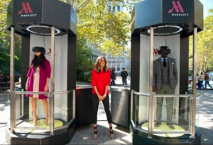 Marriott Teleporter 4D marketing for VR