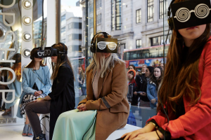 TopShop's VR Retail experience lets people experience fashion week first hand