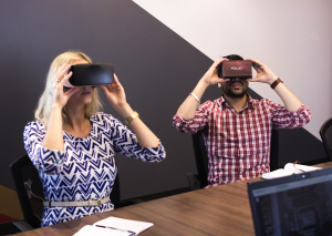 The client learning curve to view your VR presentation should be seconds long