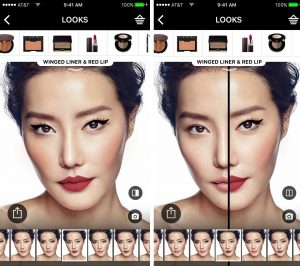 Augmented reality shows how you can try on Sephora's makeup products