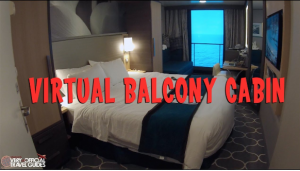 Royal Caribbean uses VR travel experience to demonstrate the difference in room amenities with this balcony cabin YouTube experience.