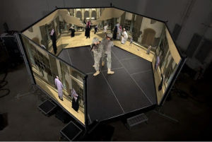 Virtual reality is a key tool that is used in the military to train their soldiers for battle