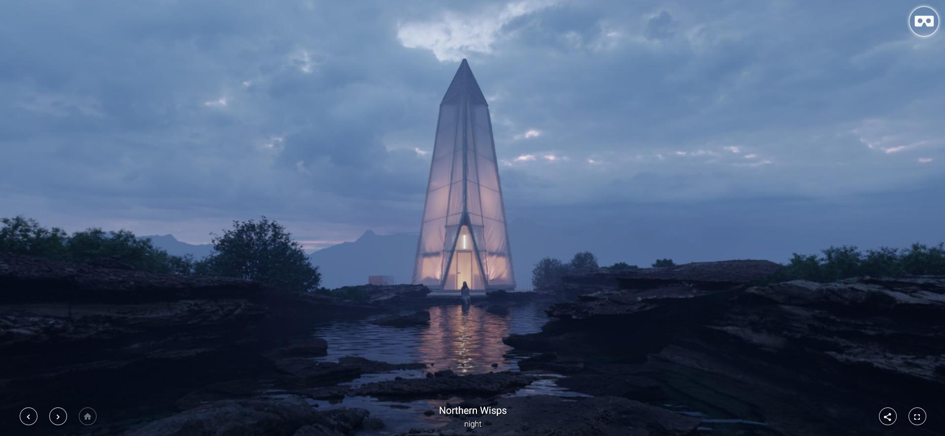 Architectural Visualization | Ronen Bekerman CABINS Competitors Stun in VR