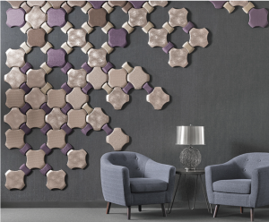 Wall coverings are becoming more natural and deconstructed from what used to be a very structured and repetitive design