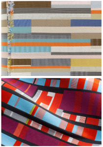 The design industry reintroduced bold patterns and colours for a reintroduction into mid-century modern design