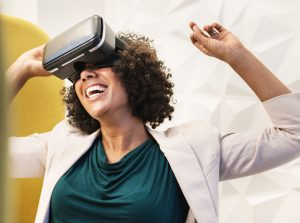 VR reactions come from emotional engagement, that even if it doesn't match to the real experience, gets closer than anything else on the market.