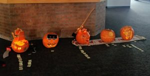 Picture of pumpkin carvings