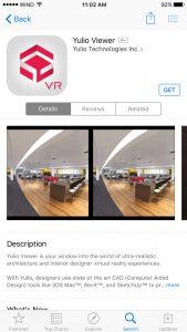 Yulio Viewer App in app store