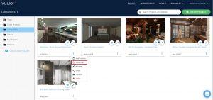 Yulio home, create copy button