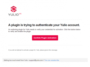 Authorize SketchUp to access Yulio