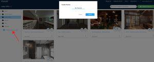 Yulio Dashboard screenshot, naming you folder
