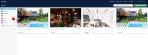 Yulio dashboard, create new folder button