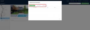 Yulio dashboard, folder access permissions