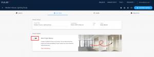 Yulio dashboard, allow project markup toggle