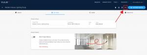 Yulio dashboard, view 360 icon