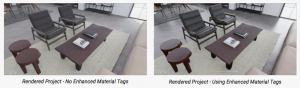 Enhanced Material Tag Office Space
