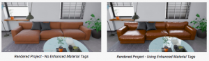 Enhanced Material Couch